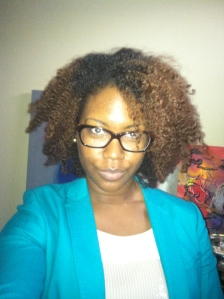 Day 3 results. I ended up re twisting all of my hair the night prior